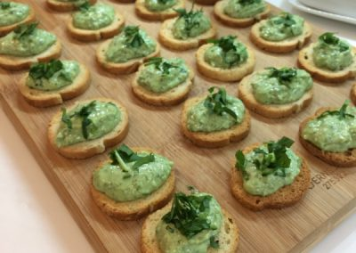Incredible canapés and finger foods